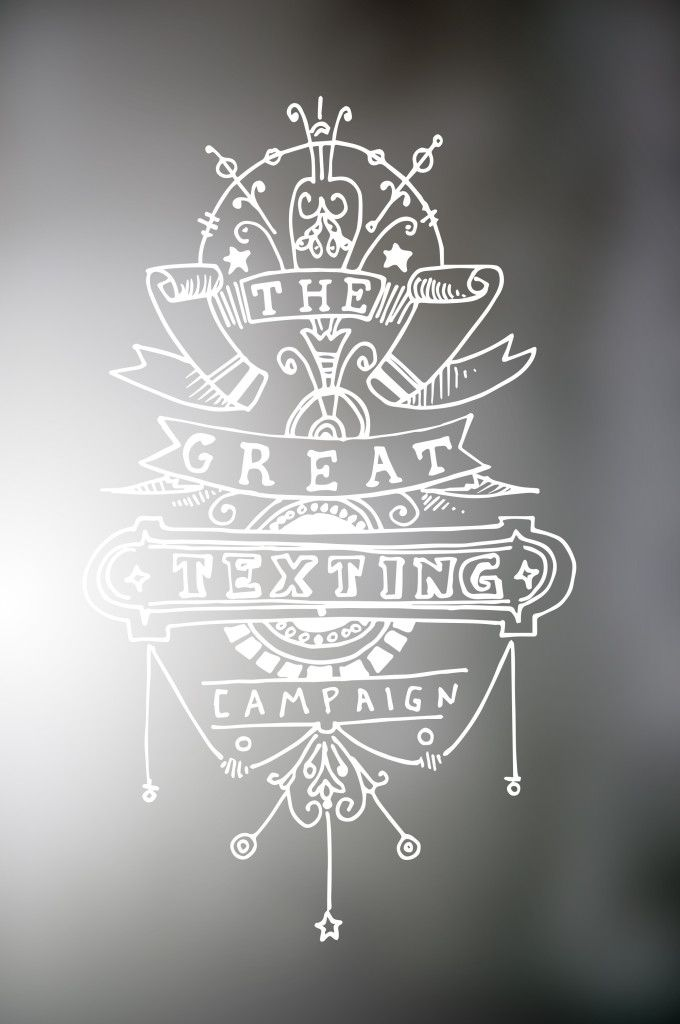 texting campaign_blurry